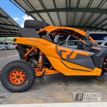 Powder Coated Can-am Wheels In Pss-0879