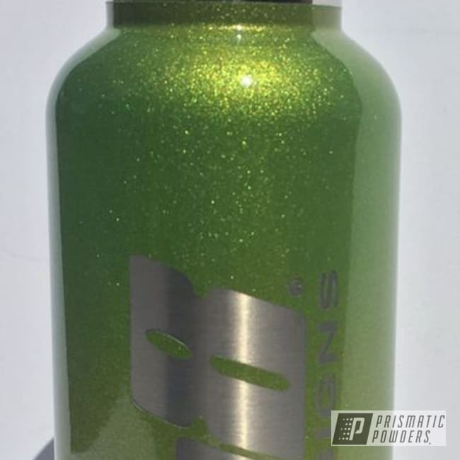Powder Coating: Illusion Crabapple PMB-6912,Clear Vision PPS-2974,Custom Bottle,Clear Coat Used,Custom 2 Coats,Miscellaneous
