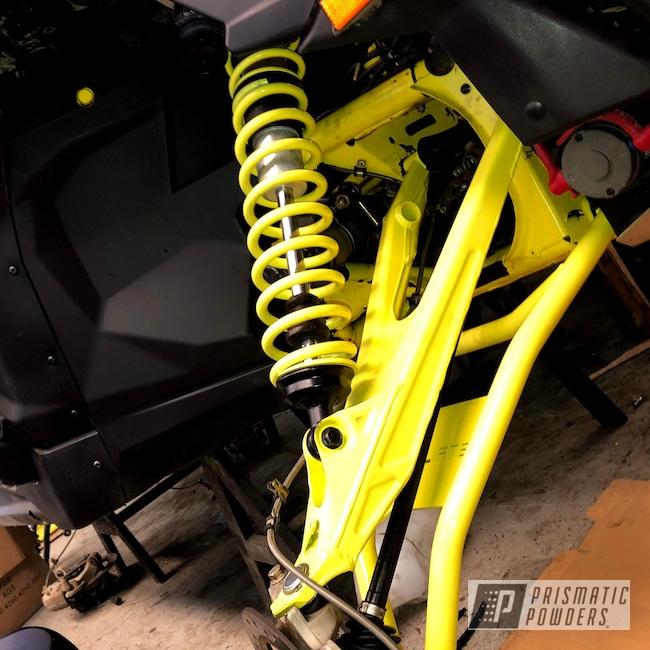 Powder Coating: Matte Black PSS-4455,Lemon Peel PSS-4035,Accessories,Maverick X3,SXS,Can-Am,Factory Matching Colors