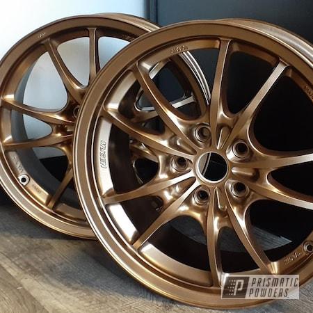 "Powder Coating: Wheels,Rims,17"" Aluminum Rims,Highland Bronze PMB-5860"