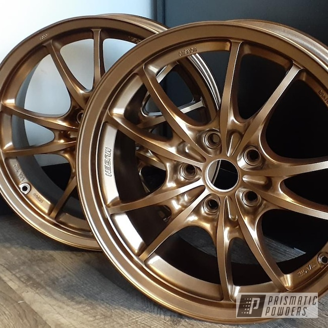 "Powder Coating: Wheels,Rims,17"" Aluminum Rims,Highland Bronze PMB-5860"