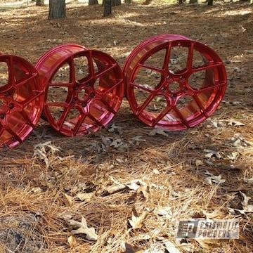 Powder Coated Wheels In Ups-1506