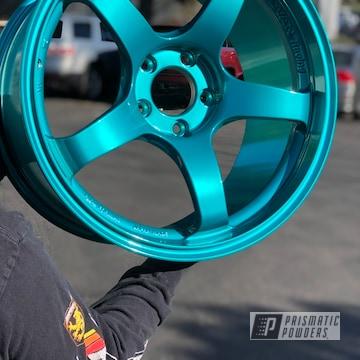 Powder Coated Advan Racing Wheels In Upb-2043