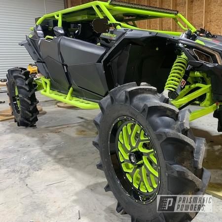 Powder Coating: Can-Am ATV Parts,ATV,Chartreuse Sherbert PSS-7068,ATV Parts,Can-Am,26