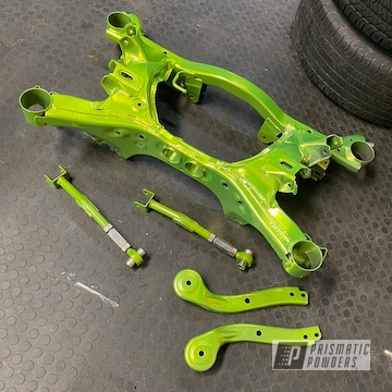 Powder Coated Subaru Parts In Hss-2345 And Pps-4765