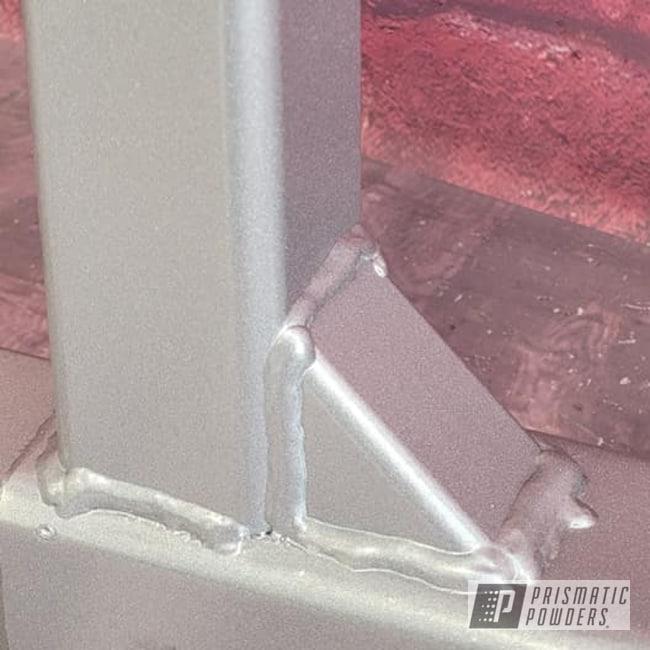 Powder Coating: Towing,Crushed Silver PMB-1544,Hitch Bar,Hitch Rack