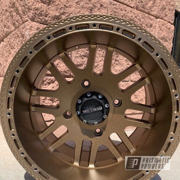 Powder Coated Method Wheel In Pmb-5860