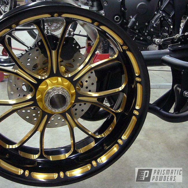 Powder Coating: Wheels,Anodized,Rims,Aluminum Rims,Gold Sparkle PPB-4499,Wheels and Accents,Aluminum Wheels,Accent