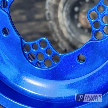Powder Coated Quad Parts In Pps-2974 And Pmb-6909