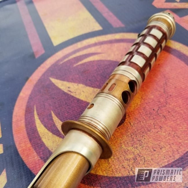 Powder Coating: Custom Lightsaber,Weathered,Anodized Brass PPB-1500,Aluminum,Monaco Copper PPB-4520,Lightsaber