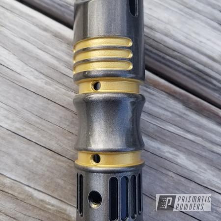 Powder Coating: Goldtastic PMB-6625,Black Chrome II PPB-4623,Aluminum,Lightsaber