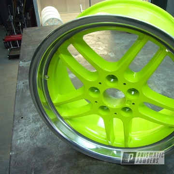 Powder Coated Bmw Wheels In Pss-7068
