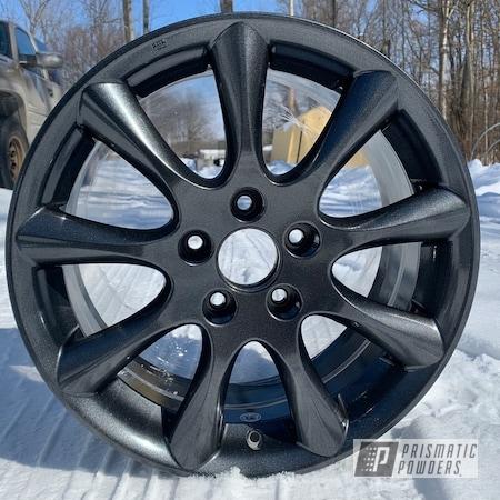 """Powder Coating: Wheels,Rims,17"""" Aluminum Rims,Honda,Cadillac Grey PMB-6377,Aluminum Wheels"""