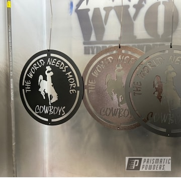 Powder Coated Metal Signs In Pws-4344, Ess-4441 And Pvs-5214