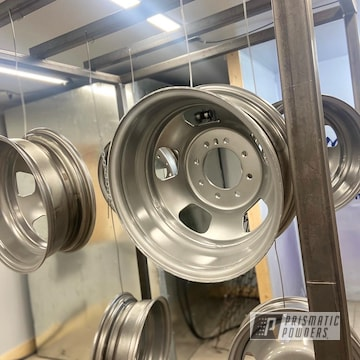 Powder Coated Steel Wheels In Pps-2974 And Hss-2345