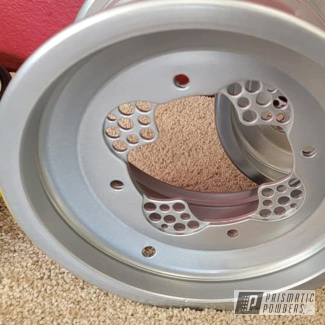 Powder Coating: ATV,Quad Parts,Crushed Silver PMB-1544,ATV Parts,quad