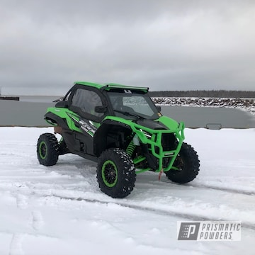 Powder Coated Atv Bumpers In Pss-5666
