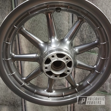 Powder Coated Harley Wheels In Uss-5204
