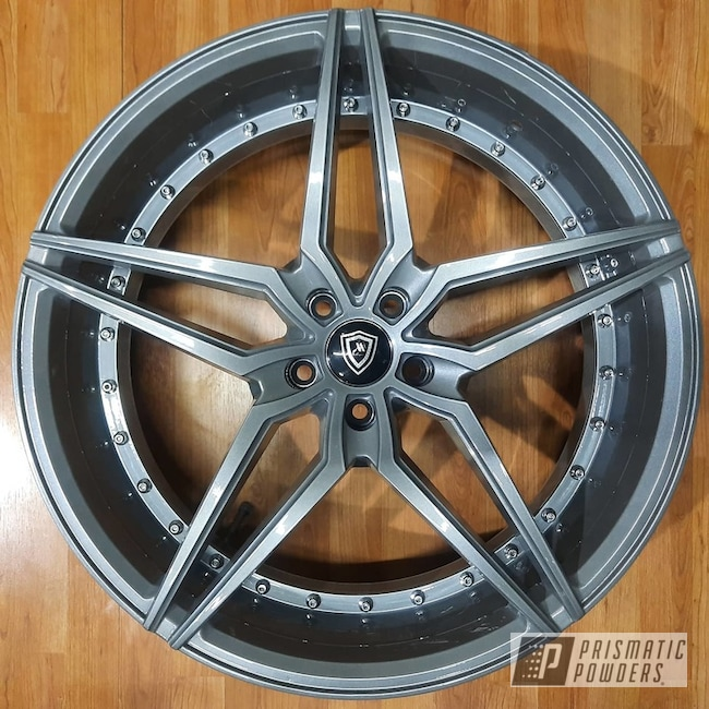 "Powder Coating: Wheels,Alloy Wheels,Chevy Camaro,Chevrolet,Galaxy Grey II PMB-2853,Rims,22"",Chevy Camaro Wheels,Camaro Wheels,Camaro ZL1,Camaro"