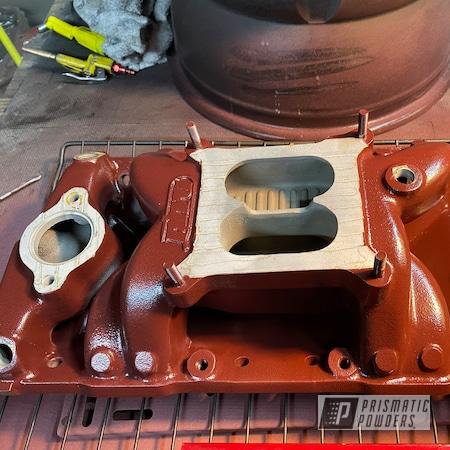 Powder Coating: Automotive,Kwik Trip Mauve PSB-6645,Air Intake,Dart Intake,Chevy,Camaro