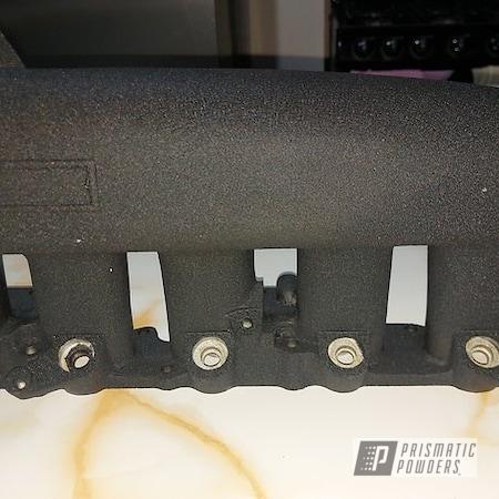 Powder Coating: Splatter Black PWS-4344,Automotive,Black,Air Intake