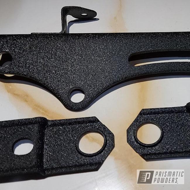 Powder Coating: Splatter Black PWS-4344,Car Parts,brackets