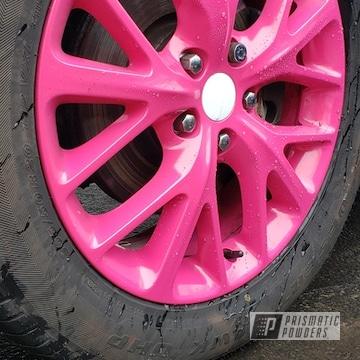Powder Coated Durango Wheels In Ral 4010