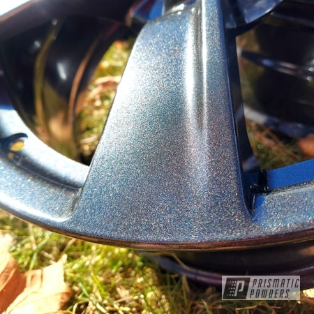 Powder Coating: Wheels,Automotive,Alloy Wheels,Rims,Cadillac Grey PMB-6377,Aluminum Wheels