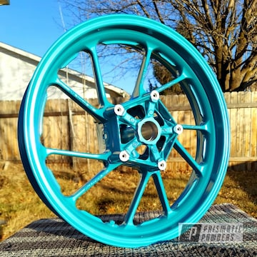 Powder Coated Motorcycle Rims In Pmb-8168