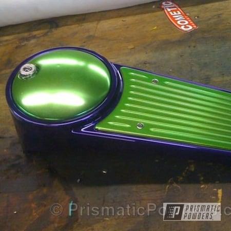 Powder Coating: Sour Apple PPB-2613,Street Glide Dash,Motorcycles