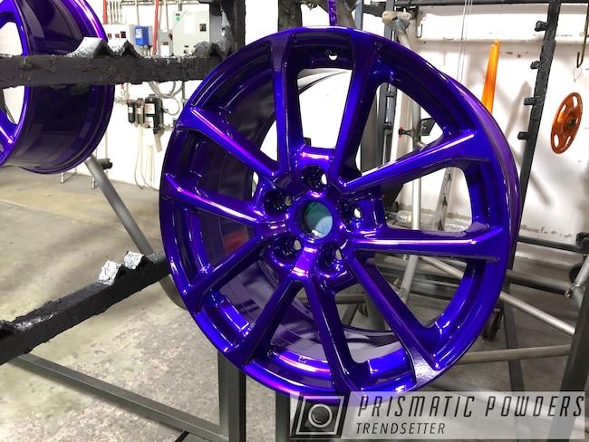 Powder Coating: Wheels,Automotive,Custom Wheels,chrome,Rims,Majestic Purple PPB-2144