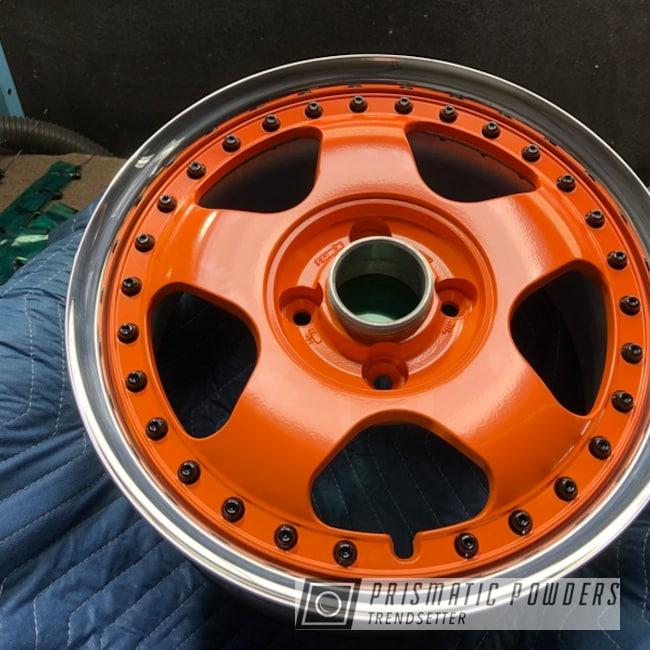 Powder Coated Wheels In Pss-0163