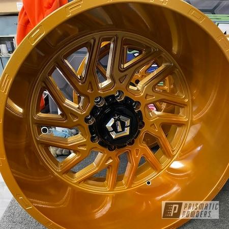 "Powder Coating: Wheels,Alloy Wheels,Transparent Copper PPS-5162,Rims,22"""