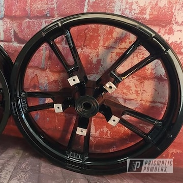 Powder Coated Harley Davidson Wheels In Pss-0106
