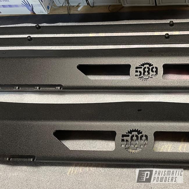 Powder Coating: Automotive,Monster Truck,Accessories,Running Boards,Super Grip Black PTB-6419,Aftermarket
