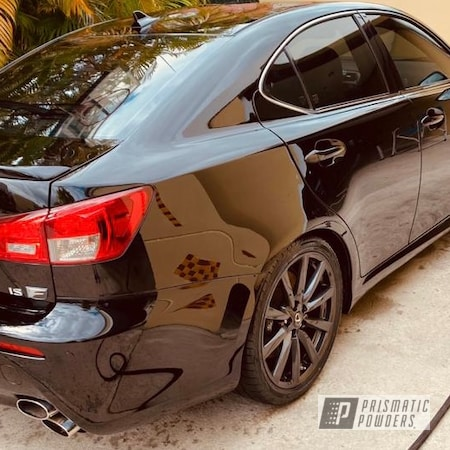 "Powder Coating: Wheels,19"" Wheels,Lexus,Rims,Wet Charcoal PMB-6480"