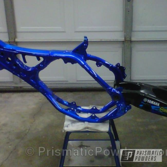Powder Coating: CADET BLUE RIVER PRB-4554,GLOSS BLACK USS-2603,Off-Road