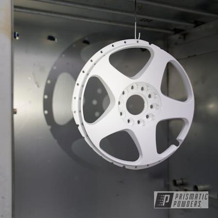 "Powder Coating: Wheels,GTR,Nissan,Rims,18"" Wheels,18"" Aluminum Rims,Gloss White PSS-5690,Nismo"