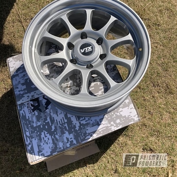 Powder Coated Toyota Rims In Pms-4983