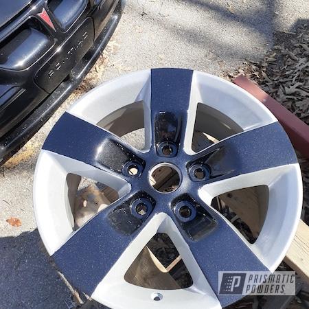 "Powder Coating: Wheels,4x4,Clear Vision PPS-2974,Black Metallic PMB-4105,Rims,17"" Aluminum Rims,Dodge,Two Tone Wheels,Two Tone,SILVER METALLIC II PMB-0513,1500"