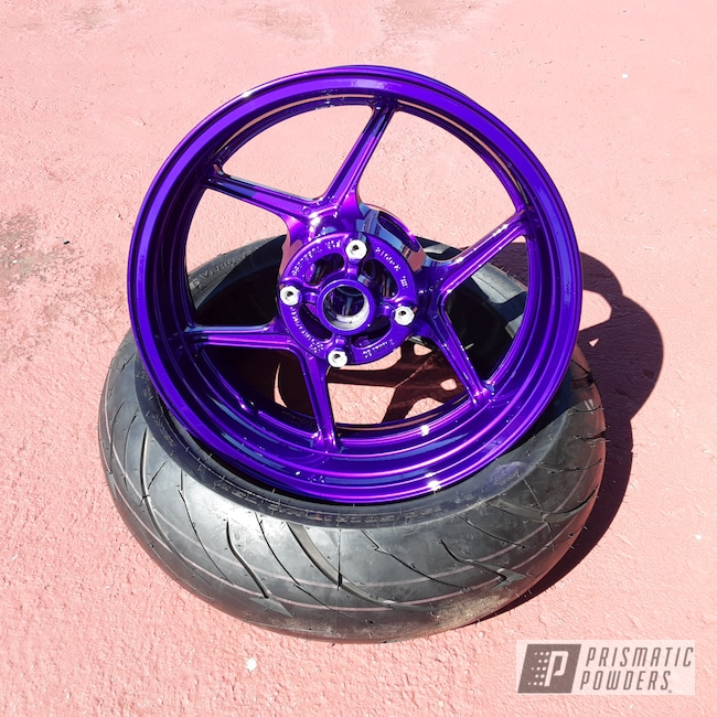 "Powder Coating: Illusion Purple PSB-4629,Ninja,Automotive,Kawasaki,Clear Vision PPS-2974,17"" Aluminum Rims,636"