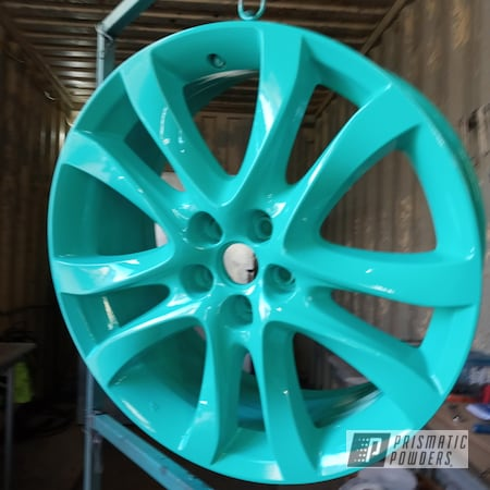 "Powder Coating: 19"" Wheels,Tropical Breeze PSS-6837,Alloy Wheels,enkei,Car Wheels"