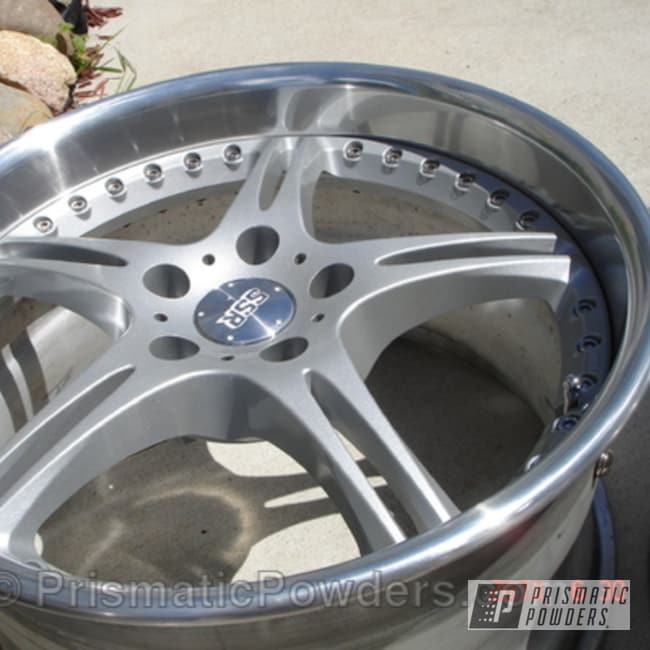 Powder Coating: Wheels,Clear Vision PPS-2974,Pacific Silver PMB-2811,Racing Wheels