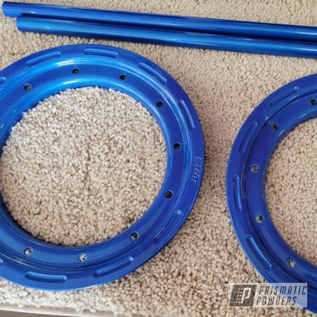 Powder Coating: Automotive,Clear Vision PPS-2974,Quad Parts,Illusions,Illusion Smurf PMB-6909,quad