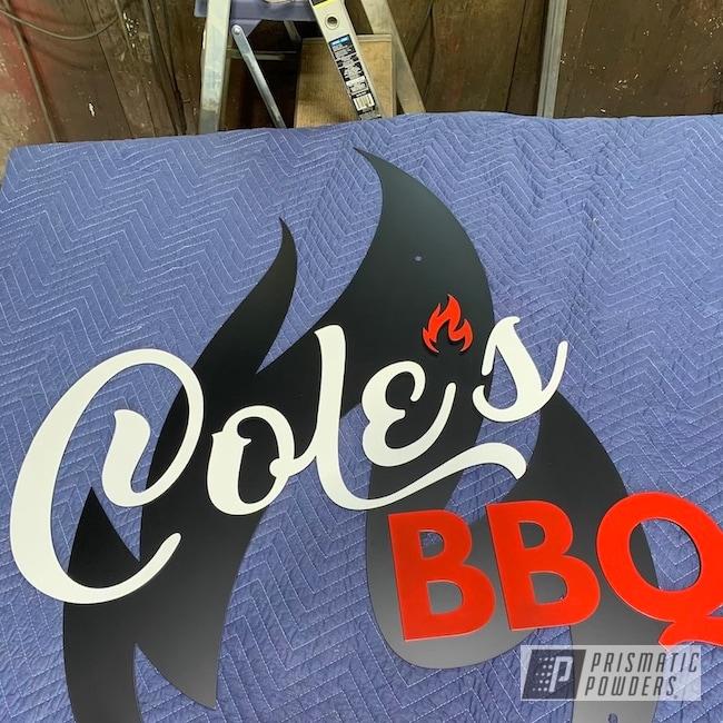 Powder Coating: Custom,CNC,Flatter Black ESS-4441,Sign,White PSB-6893,Very Red PSS-4971,Custom Business Sign,DESIGN