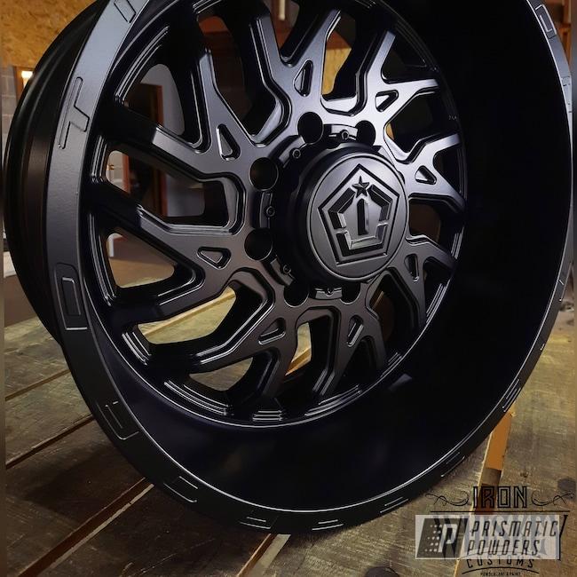 "Powder Coating: Wheels,Stone Black PSS-1168,20"" Wheels,Rims"