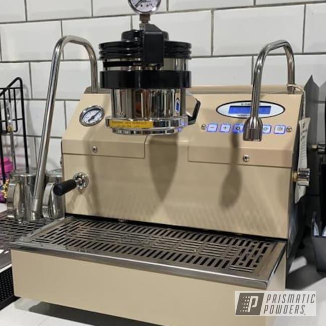 Powder Coating: EDIBLE BEIGE UMB-2453,Kitchen,Drinkware,Coffee Machine,Household