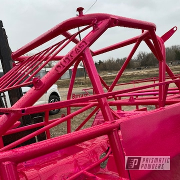 Powder Coated Race Car Frame In Upb-1759