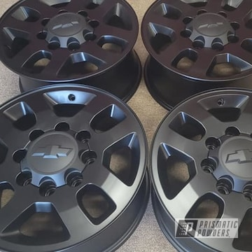 Powder Coated Rims In Uss-1522
