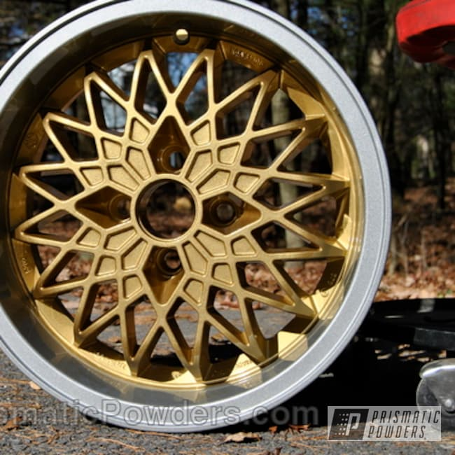 Powder Coating: Wheels,Silver,Clear Vision PPS-2974,Wheel,powder coated,Crushed Silver PMB-1544,Gold